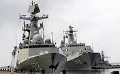 South China Sea Fleet conducts training