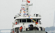 Patrol ship 44608 around Huangyan Islands