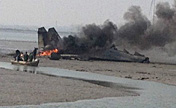 Su-27 fighter jet crashes in Shandong, E China