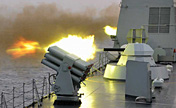 South Sea Fleet in live-ammunition fire drill