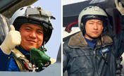 Identities of pilots killed in fighter jet crash
