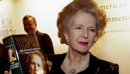 Thatcher: An outstanding political figure