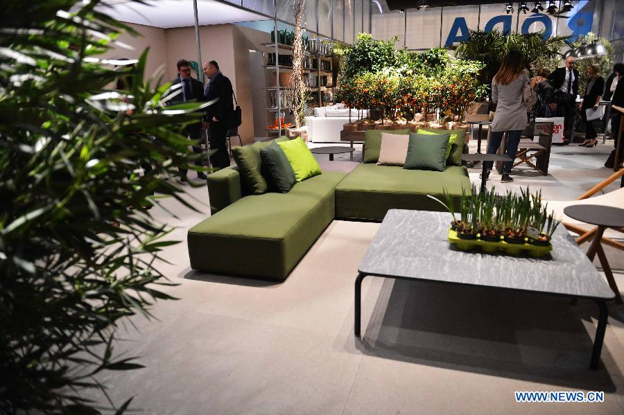 Milan International Furniture Fair Kicks Off People 39 S