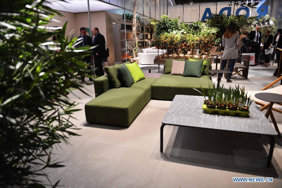 Milan International Furniture Fair Kicks Off People 39 S Daily Online
