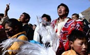 Commemoration for anniv. of Yushu quake