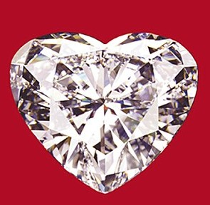 Heart-shaped diamond, 56-carat