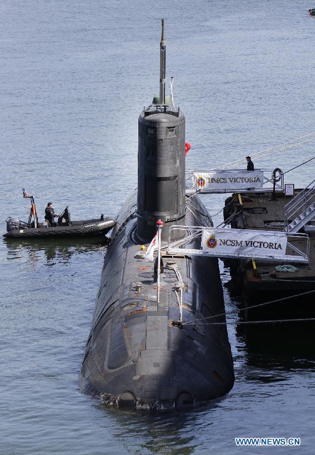 Canadian Submarine Quot Victoria Quot Visits Port Of Vancouver