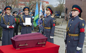 WWII soldier remains returned to Russia