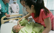 New mothers donate milk to help baby