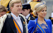 New Dutch King Willem-Alexander sworn in