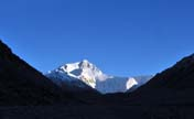 Mount Qomolangma, the highest peak in the world