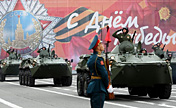 Victory Day parade held at Red Square, Russia