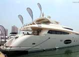 Yacht exhibition held in Hong Kong
