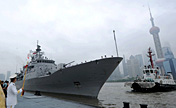 New Zealand's 'Te Mana' frigate revisits Shanghai