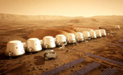 A new life on the red planet with a strong response
