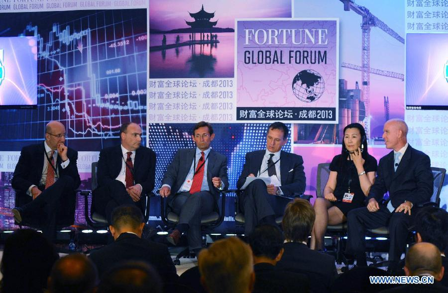 Special Round Table Discussion held at Fortune Global Forum