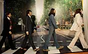 Beatles' wax figures exhibited in Washington