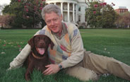 U.S. presidents and their pets