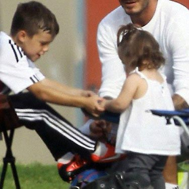 Harper Beckham And Brothers