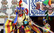 Religious dance 'Qiang Mu' performed in Tibet