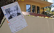 People send best wishes for Mandela