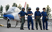 PLAAF's female fighter pilots
