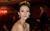 Elegant Zhang Ziyi attends grand ball