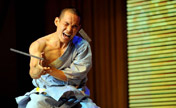 Shaolin martial arts performed in Taiyuan