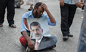 Supporters of Morsi protest in Cairo