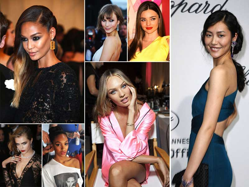 Top 20 most popular supermodels