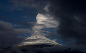 Popocatepetl Volcano registered 38 exhalations