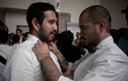 Collective gay wedding held in Mexico City