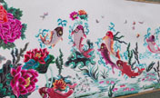 Paper-cutting honored at Hebei art festival