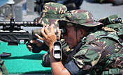 PLA special forces hold military skills contest