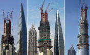 Shanghai Tower under construction