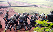 Live fire drill of PLA Artillery Forces
