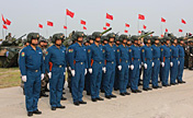 "Chinese soldiers leave for ""Peace Mission 2013"" drills"