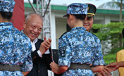 9th 'HK Teenager Military Summer Camp' ended