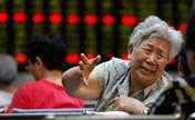 Stocks sink on profit slowdown, audit plan