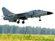 Chinese Air Force's combat group carries out 1st flight training in joint drills