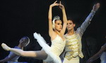 Ballet Swan Lake rehearsed in Taipei