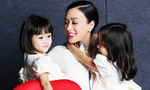 Christy Chung on 'COSMO' with lovely daughters
