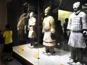 Terracotta warriors witness tourism peak