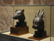 Returned zodiac heads on show at national museum