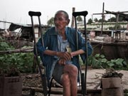'Abandoned' life in cement boats in Huai River