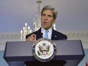 Kerry says U.S. to make own decision on attack on Syria