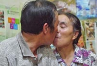 An elderly Chinese street cleaner's love story
