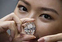 118.28-carat diamond to be auctioned in HK