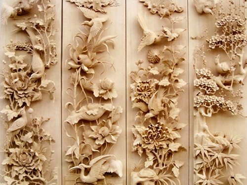 Jianchuan wood carving people s daily online