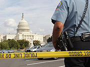 Police officer injured after gunshots outside Capitol